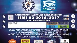 Remer Treviglio Blu Christmas Card