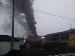 Incendio a Pagazzano