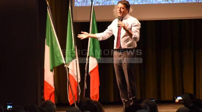 Matteo Renzi a Bergamo