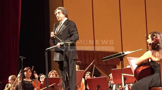 Bergamo - Il concerto di Riccardo Muti alla presenza di Sergio Mattarella