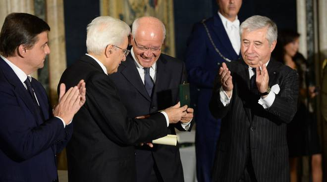 Pierino Persico dal Presidente Mattarella: ora è Cavaliere del Lavoro