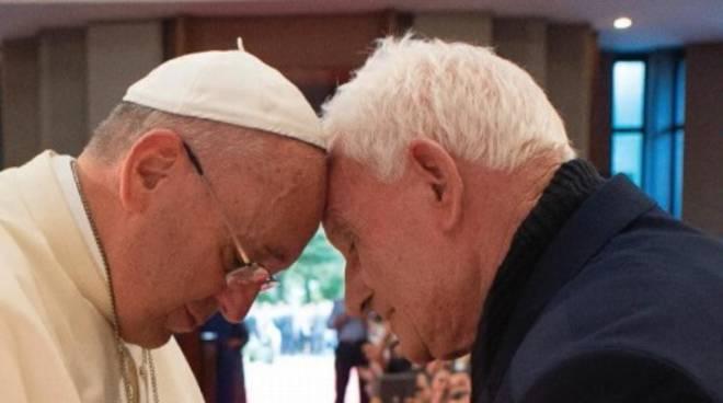 Papa Francesco e Ernest Simoni