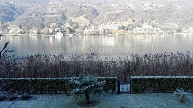 lago di endine primo ghiaccio