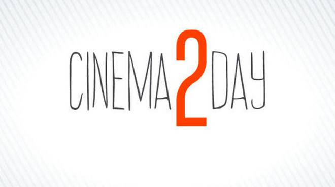Domani torna l'appuntamento con Cinema 2 Day