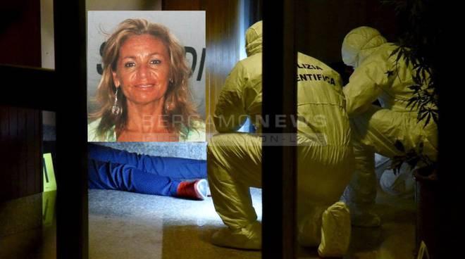 Donna uccisa a coltellate mentre rientrava a casa: giallo a Bergamo