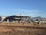 I lavori d'ampliamento del cantiere di Oriocenter