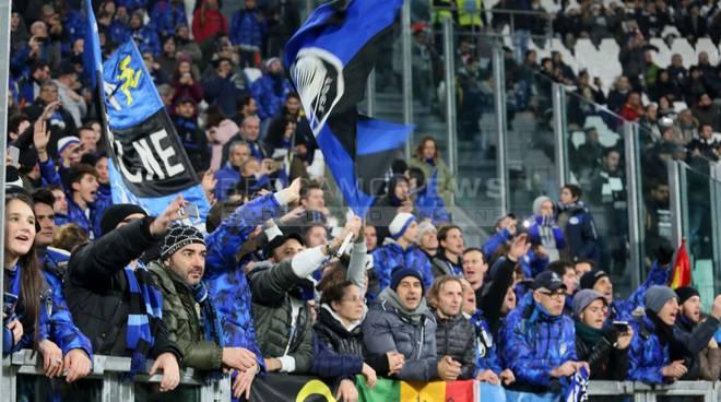 I tifosi atalantini allo Juventus Stadium