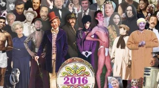 morti famosi 2016