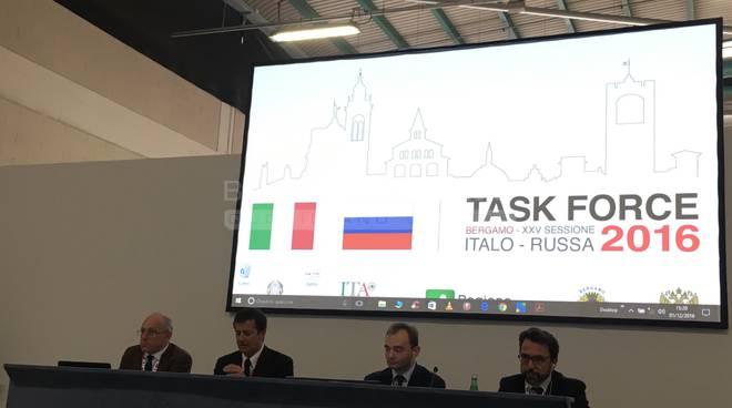 """Alla Task Force Italia-Russia 50 imprese bergamasche: """"Può nascere partnership duratura"""""""