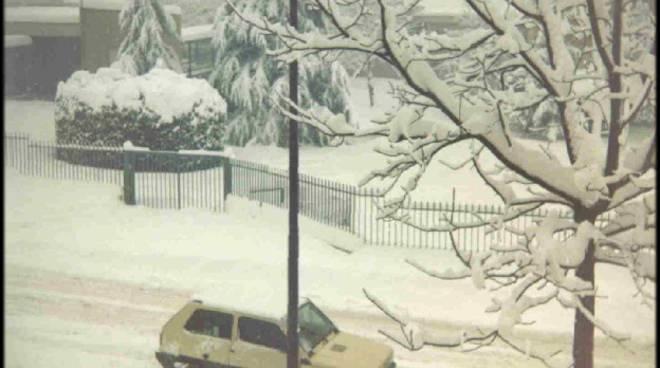 13 gennaio 1985, la grande nevicata