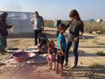 Il viaggio di Arianna sul confine siriano