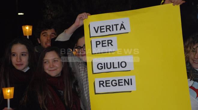 Fiaccolata per Giulio Regeni