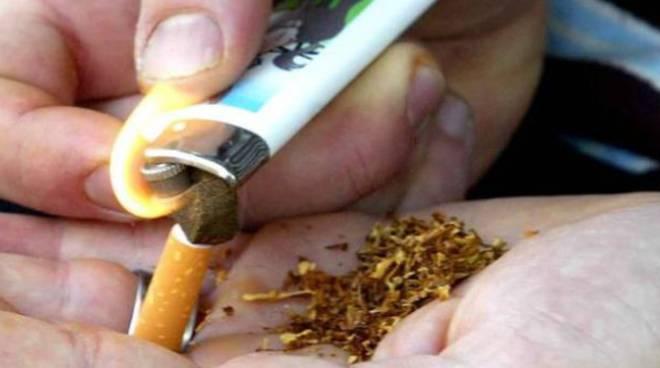 hashish fumo spinello