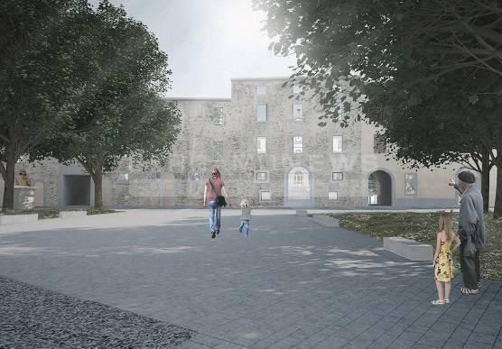 Il progetto di Piazza Carrara