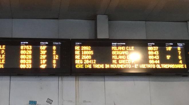 ritardi treno