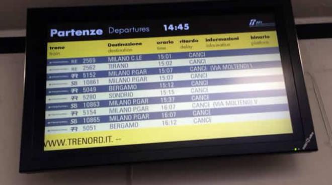 treni cancellati