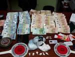 Droga e denaro sequestrato dai Cc di Treviglio