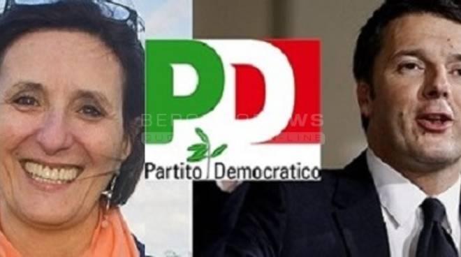 Carla Rocca e Matteo Renzi
