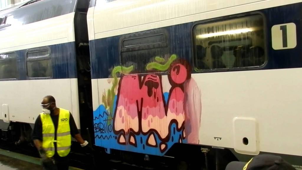 Vandalismi sui treni