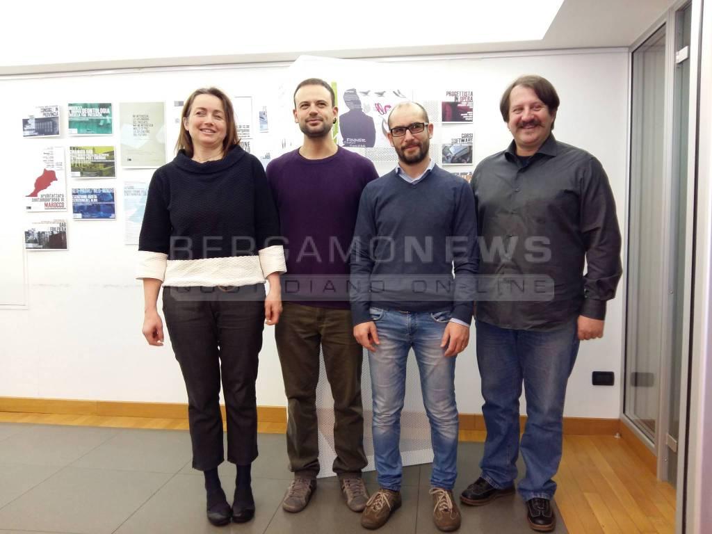 Architetti A Bergamo acciaio damascato, l'artigianato incontra il design