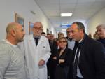 Gallera in visita negli ospedali della Bassa