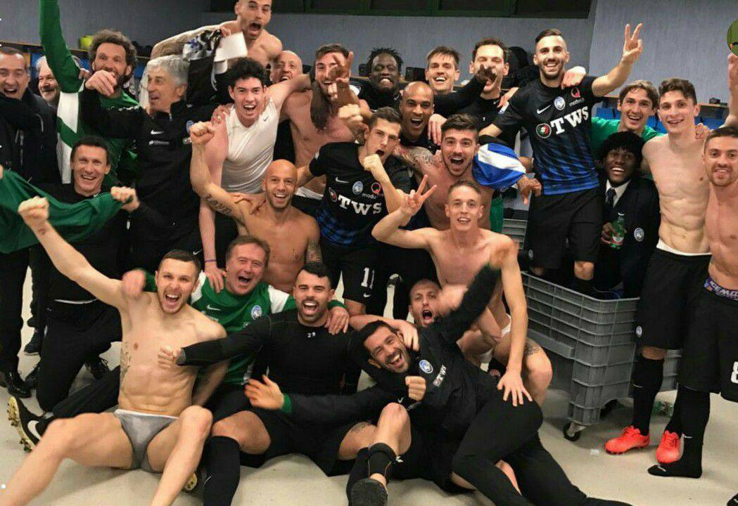 Atalanta vittoriosa a Napoli
