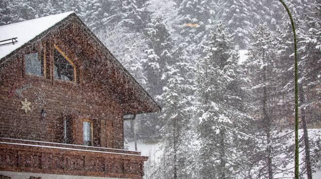 Nevica al Passo della Presolana