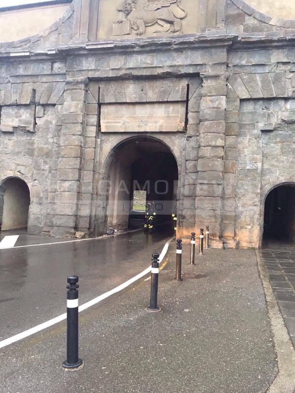 Porta Sant'Agostino chiusa