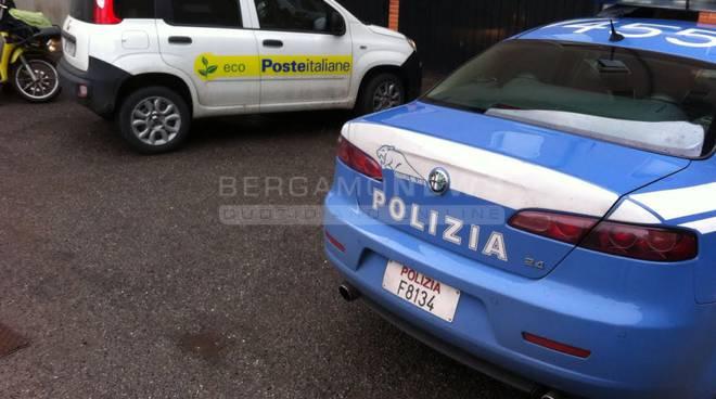 rapina treviglio polizia