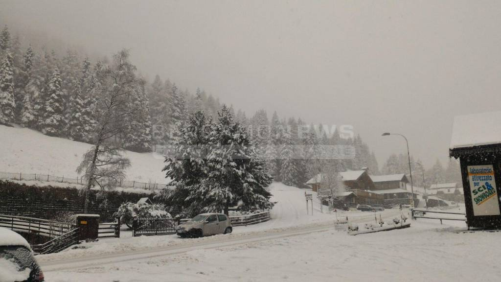 Torna la neve al Passo della Presolana
