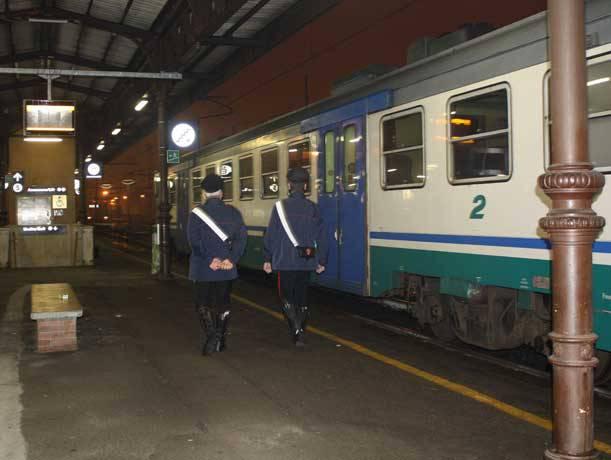 carabinieri treno