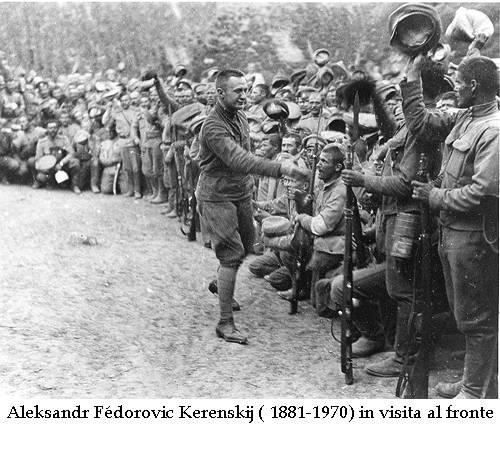 I russi escono dalla Grande Guerra
