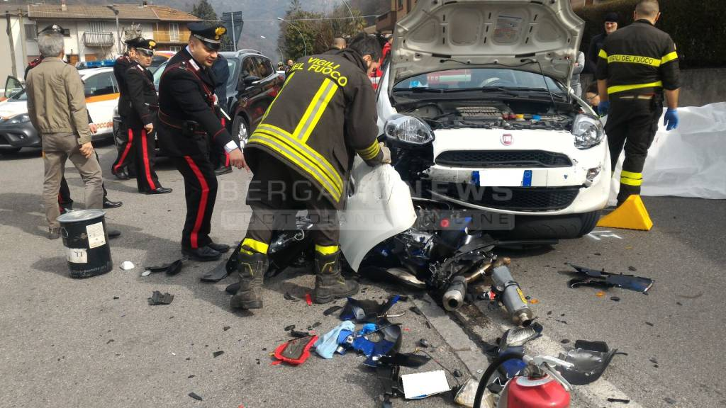 Incidente mortale a Casnigo