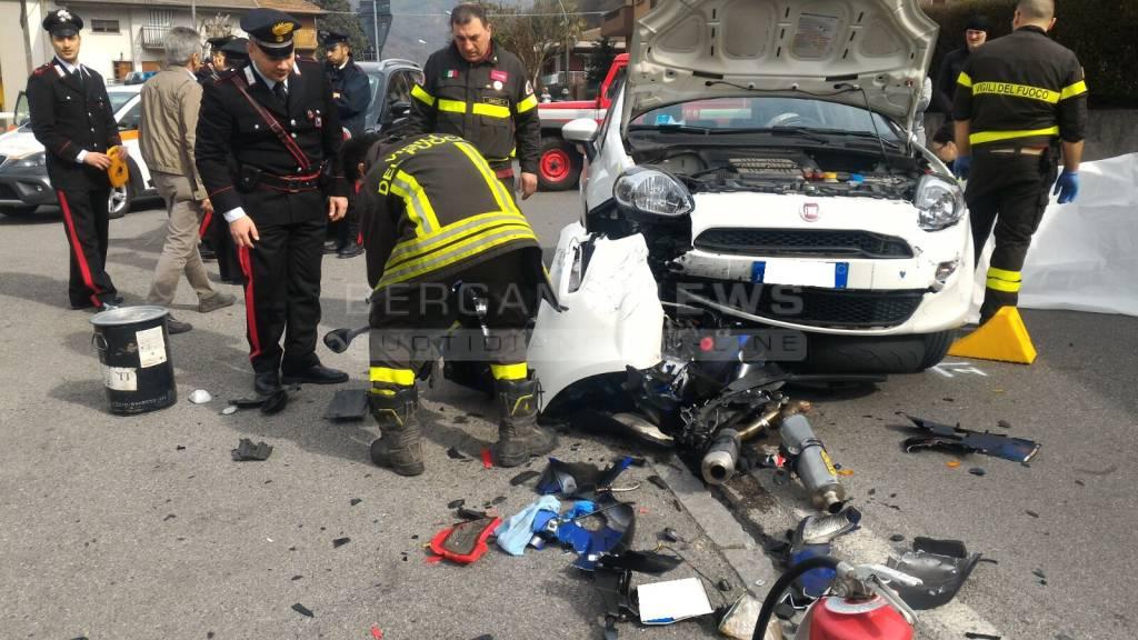 Incidente mortale a Casnigo