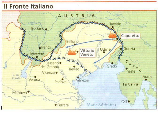 Grande Guerra, Pillola 117: Caporetto, la sconfitta e la disfatta ...