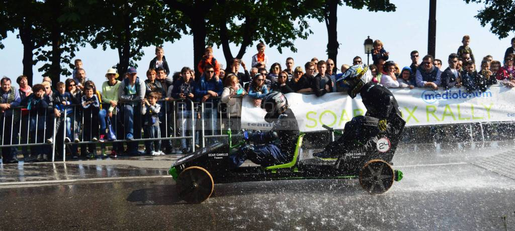 45° MEDIOLANUM SOAP BOX RALLY