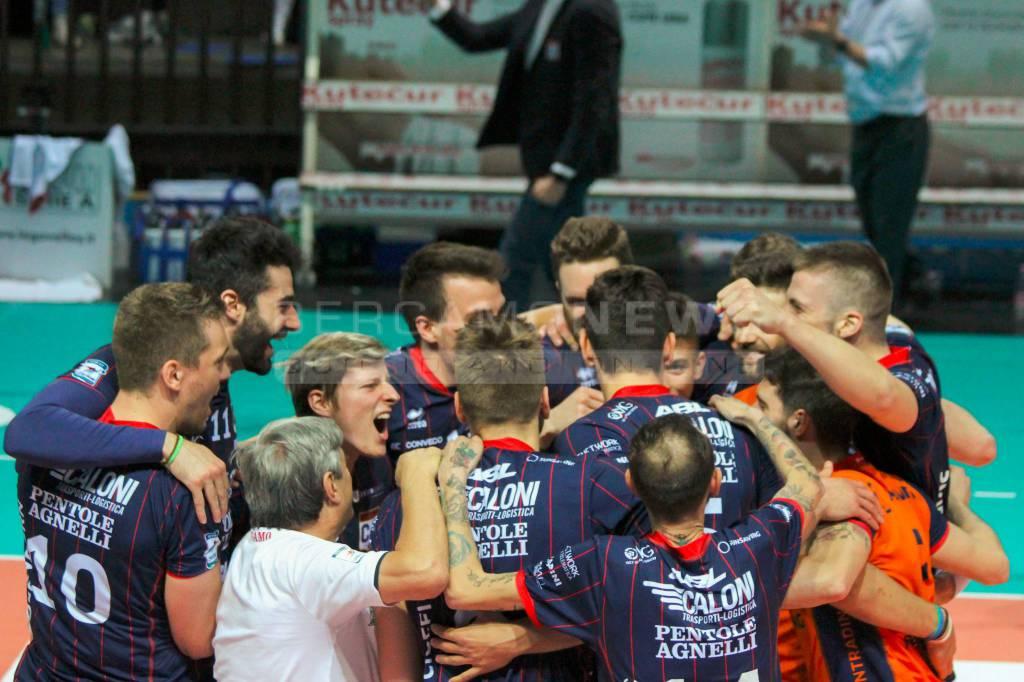Caloni Agnelli - Castellana Grotte: 2-0
