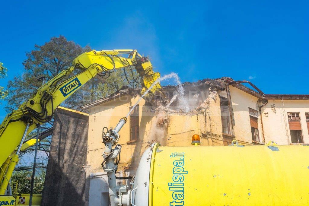 Demolizione ex caserma Montelungo