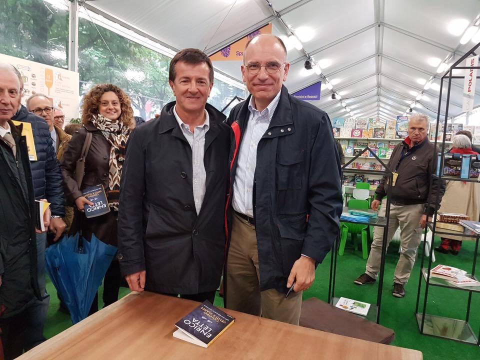 Giorgio Gori ed Enrico Letta