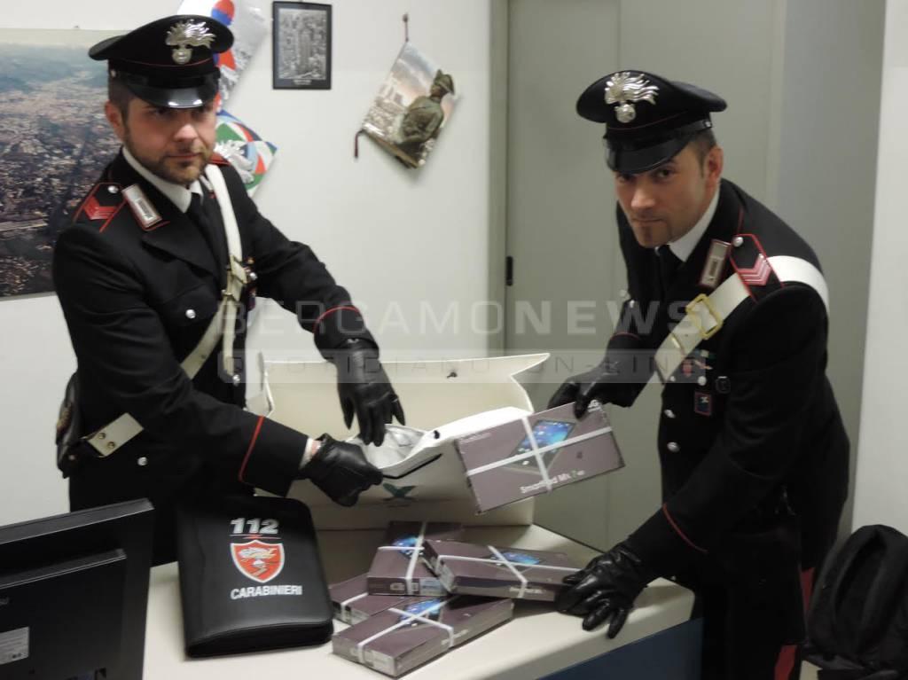 Carabinieri, furto di Ipad