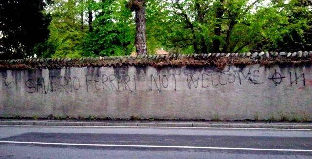 Saverio Ferrari Not Welcome