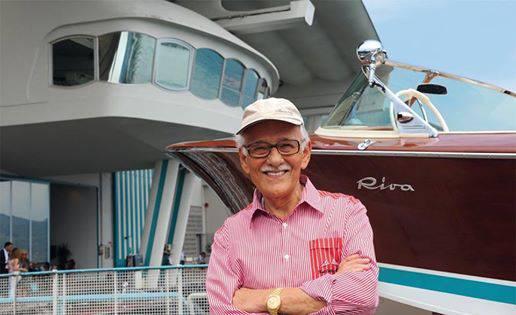 Morto a 95 anni Carlo Riva, patron motoscafi di lusso