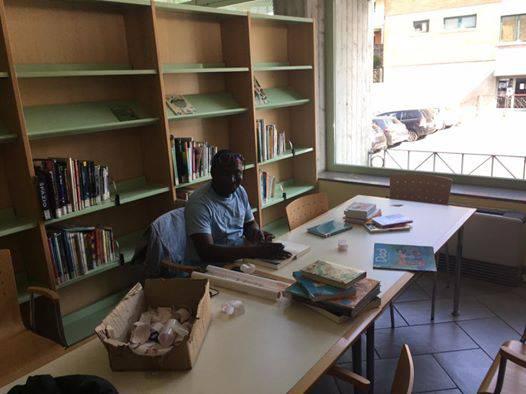 Volontario biblioteca Scanzo