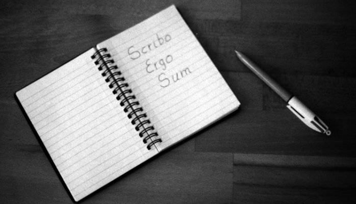 Scribo Ergo Sum