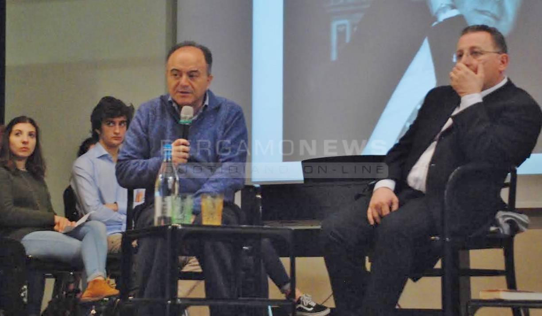 Nicola Gratteri e Antonio Nicaso al Mascheroni