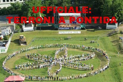 Terroni Uniti in concerto a Pontida