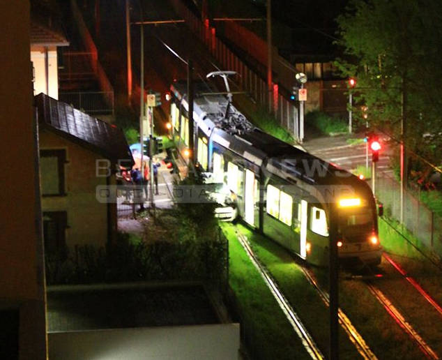 tram incidente