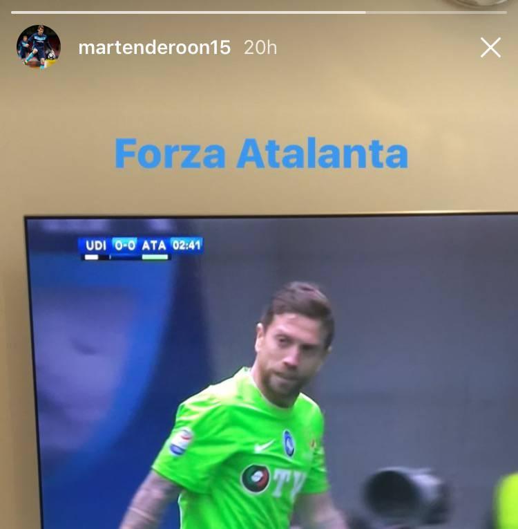Terza Maglia Atalanta MARTEN DE ROON