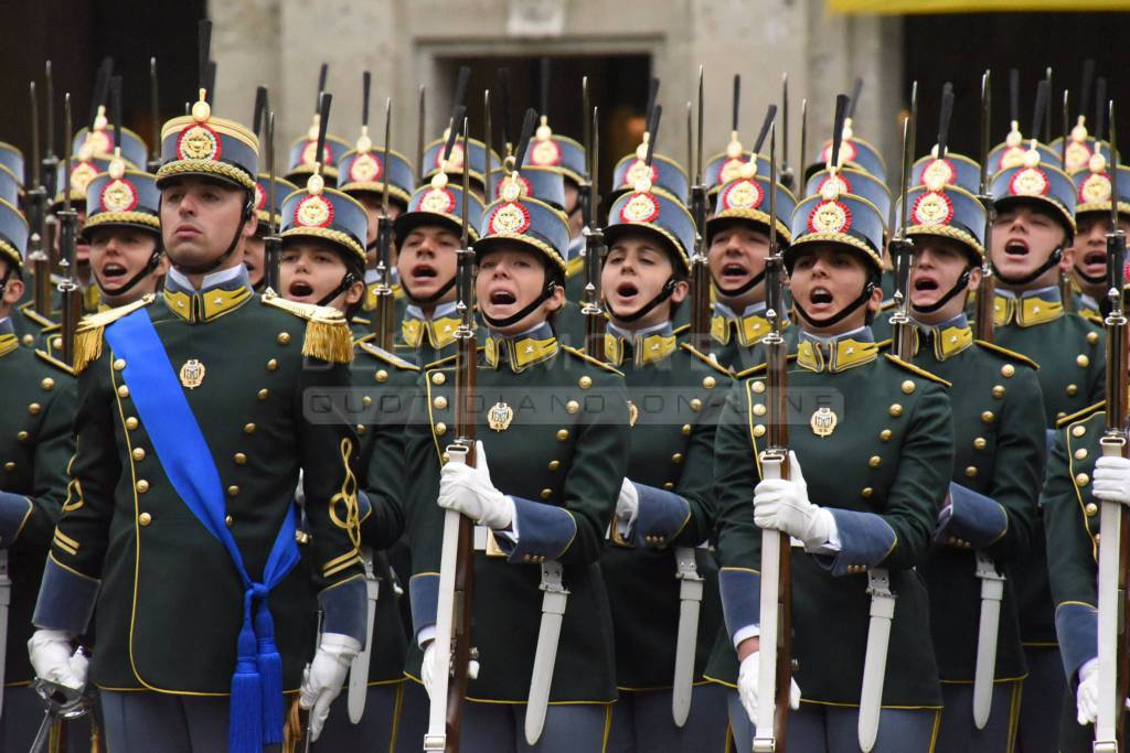 Giuramento 62 allievi ufficiali della Guardia di Finanza