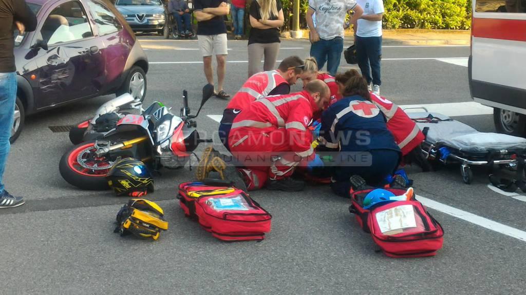 Castione scontro con un 39 auto motociclista di 25 anni - Casa di riposo dalmine ...